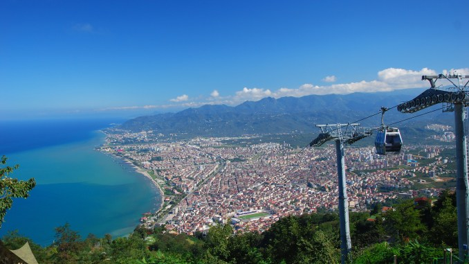 Boztepe Cable Car
