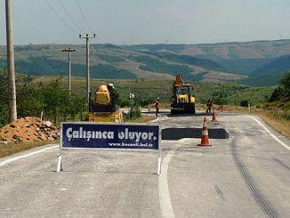 Derince Korfez Straßenwartung und Reparatur