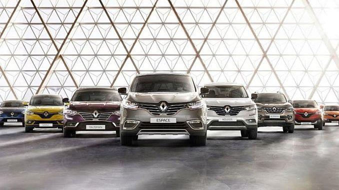 Ο Όμιλος της Renault να αγοράσει Fiat Chrysler Automobiles Offered
