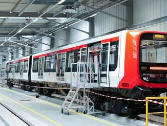alstom has delivered the new generation train for lyon metro