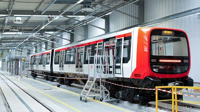 Alstom ha entregado el tren de nueva generación para el metro de lyon.