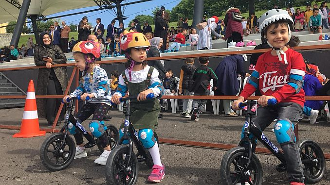 Significant activity in Aycicegi bicycle valley