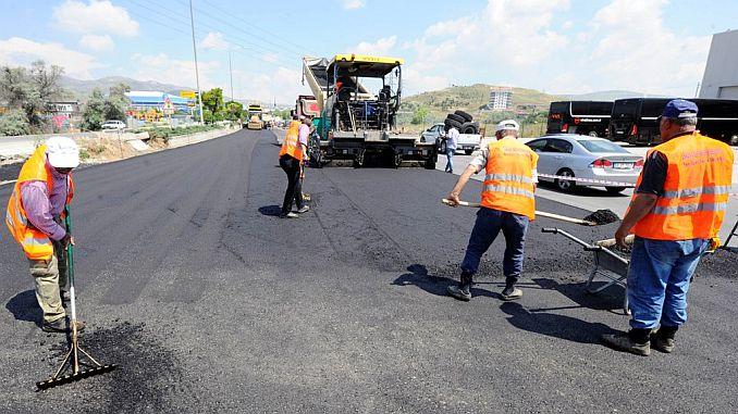der präsident hielt ein langsameres wort asphaltbeteiligung entfernt