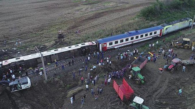 कॉर्लू ट्रेन फॅसिसी कोर्स क्षेत्र मंत्रालय टीसीडीए तारीख चेतावणी