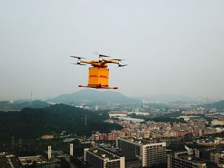 dhl cinde drone lanza carga