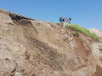 deslizamiento en el ferrocarril de diyarbakir batman