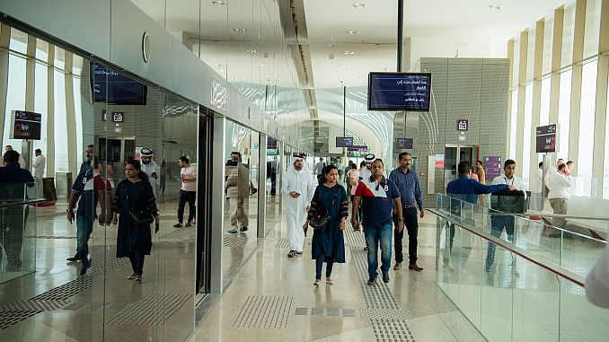 The first stage of Doha Metro