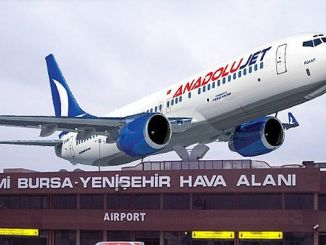 dubai yenisehir first flight in Turkey
