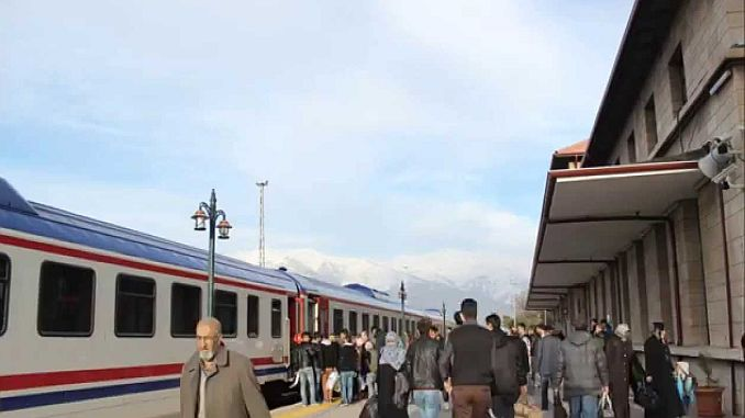erzincan erzurum train commences re-started