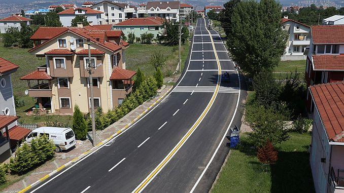 Ausschreibung für Instandhaltungs- und Reparaturarbeiten an den Straßen Golcuk und Karamursel