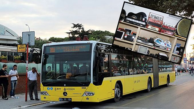 Forgotten items on iett buses are increased