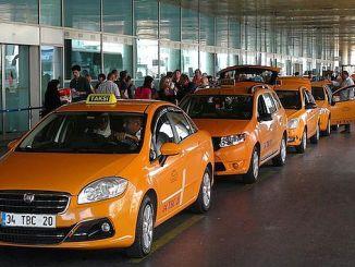 رسوم تاكسي مطار اسطنبول