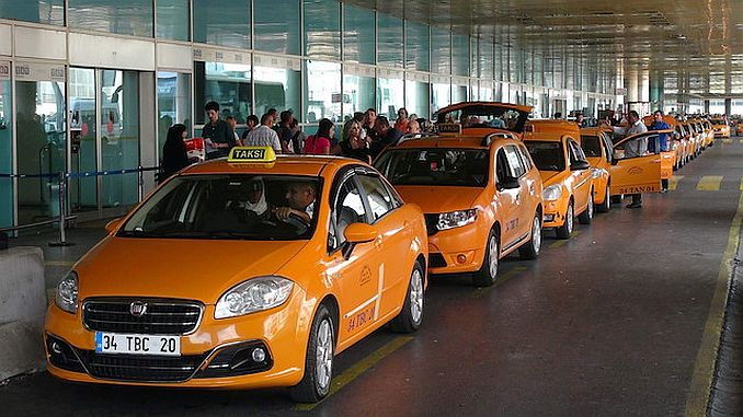 Taxis del aeropuerto de Estambul