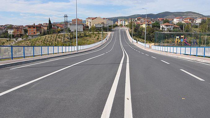 इझमित आणि कंदिरा रस्त्यांचे आधुनिकीकरण करीत आहेत