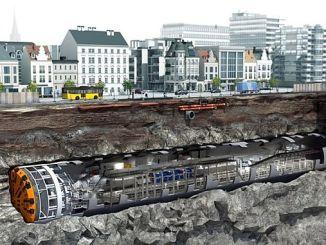 Narlıdere Metrosu'nda Dev Köstebek Yeraltına İndi