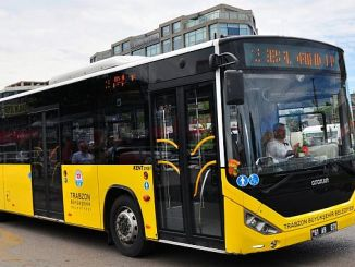 trabzon new bus for mass transportation