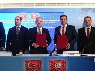 Tunisiya ne tsakanin e-kasuwanci ƙungiya yarjejeniya da turkey