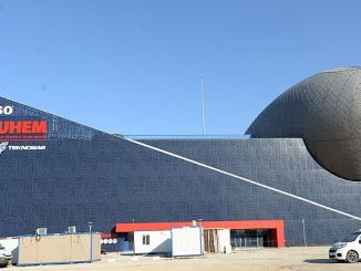 turkiyenin space-themed first training center gokmen opening gun is sayiyor