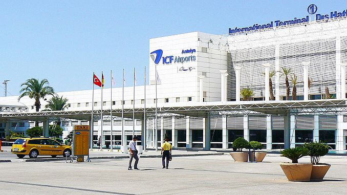 transporter from you at antalya airport