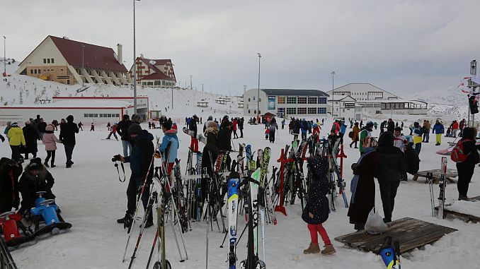 yildiz dagi winter sports tourism center visitors record