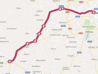 Ankara Polatli: Mapa