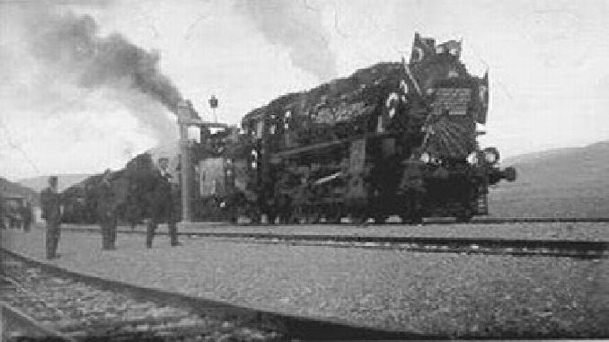 ankara eregli demiryolu