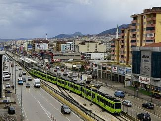 use rail system in urban transportation to solve bursa traffic
