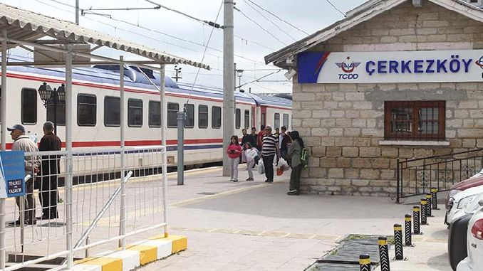 Cerkezkoy Istanbul will take a minute by train