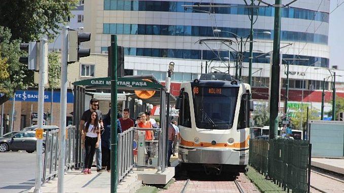 gaziantepte holiday tram and municipal buses free