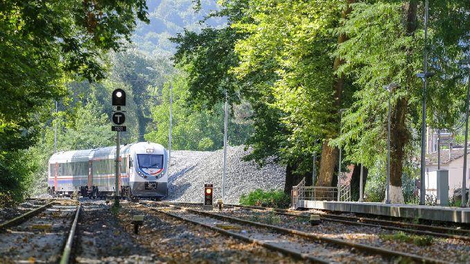 كم خط سكة حديد Irmak zonguldak في أسفل نتيجة العطاء