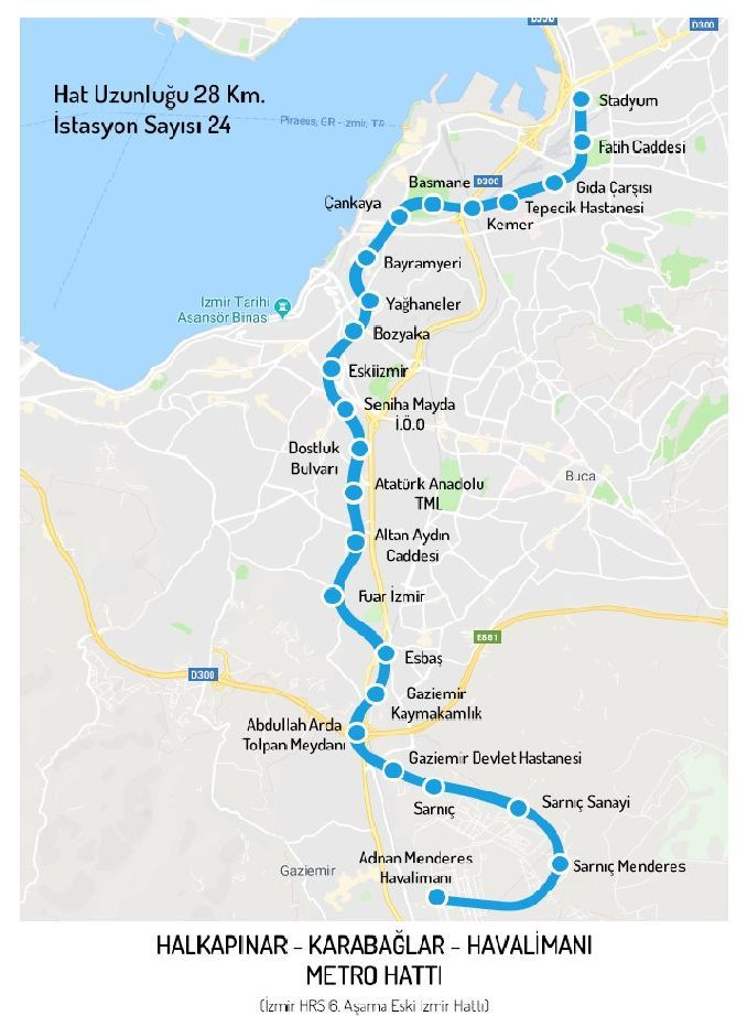 izmire another metro line coming