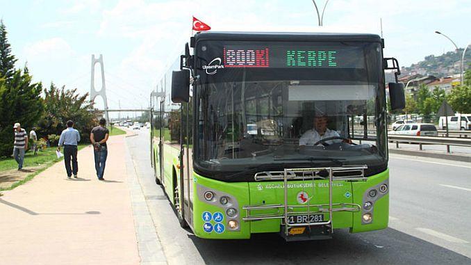 kocaelide blue flag coastal transport begins