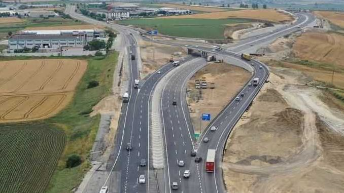 north marmara motorway will connect with the catalca environment road will be opened to service