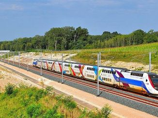 lgv rhin rhone high speed train line is being extended