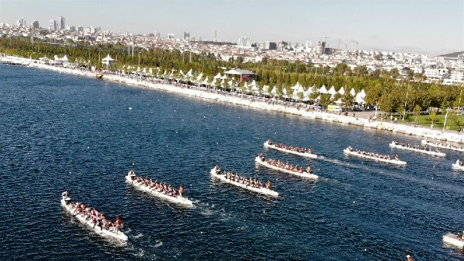 ibt interiors dragon boat festival excitement on maltepe coast