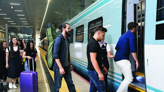 милиони пътници, преместени с влак в Рамадан