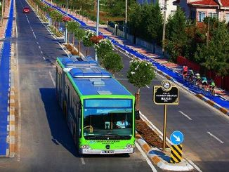 Los autobuses municipales de Sakarya fueron a horario de verano.