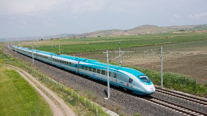 sivas ankara yht line will start in the test year