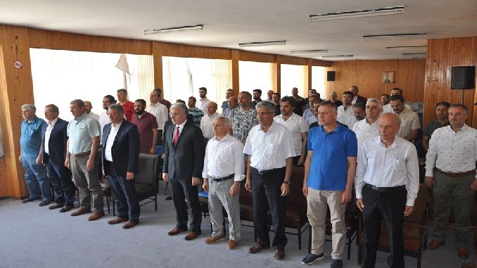 sivas demirspor club held the usual general assembly