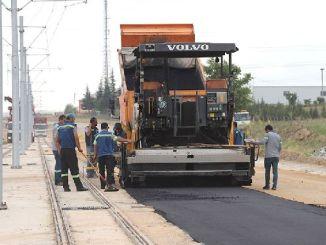 započeo je sultandere tramvajske linije