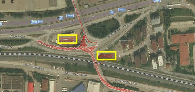 drivers attention mevlana junction new traffic arrangement