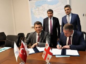 turkey railway between Georgia will hit the annual thousand tons of cargo handling