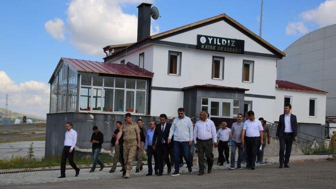 Yildiz পর্বত স্কি রিসোর্ট ঋতু পরিবেশন করা হবে