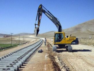 Foundation of Ankara Konya High Speed ​​Train Project