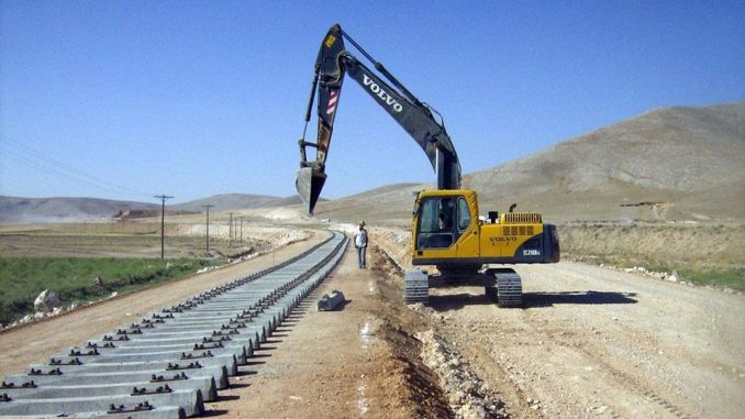Foundation of Ankara Konya High Speed Train Project