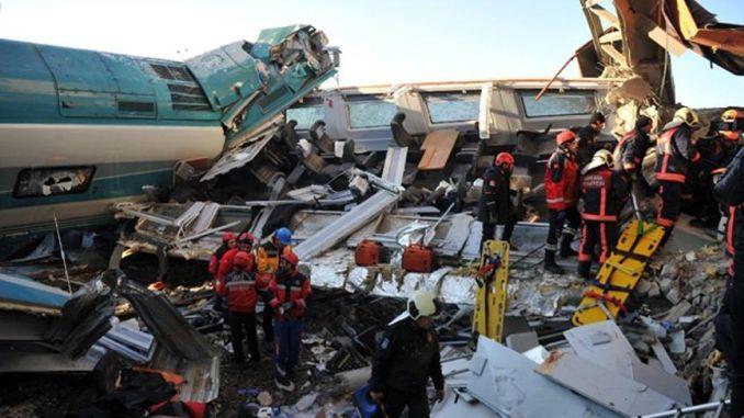 Reason of Ankara Train Accident