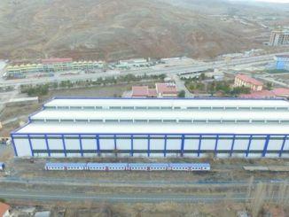 TCDD Cankiri Makas Fabrikasi