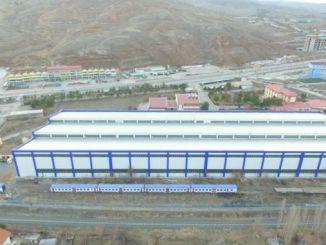 TCDD Cankiri Scherenfabrik