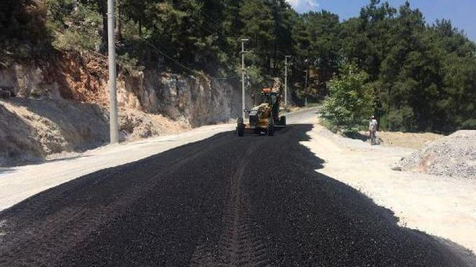 alanya gedevet plateau road made safe