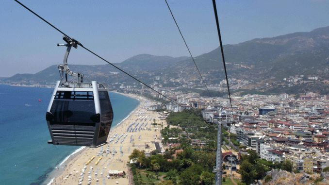 alanya ropeway is the name of the discrimination